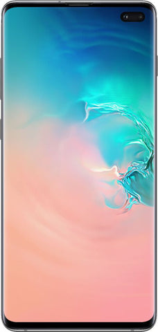 Samsung - Galaxy S10+ with 128GB Memory Cell Phone (Unlocked) Prism - White