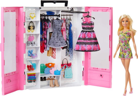 Barbie - Fashionistas Ultimate Closet Doll and Accessory - Pink