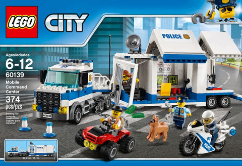 LEGO - City Mobile Command Center 60139