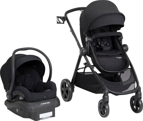 Maxi-Cosi - Zelia 5-in-1 Modular Travel System - Night Black