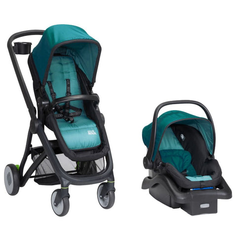 Safety 1st - Riva 6-in-1 Flex Modular Travel System - Blue Sky
