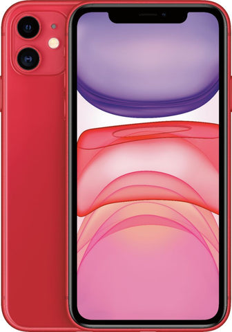 "Apple iPhone 11 (6.1"", 64GB, Unlocked, (PRODUCT) RED)"