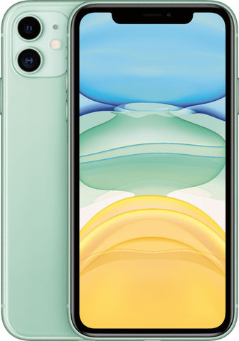 "Apple iPhone 11 (6.1"", 128GB, Unlocked, Green)"