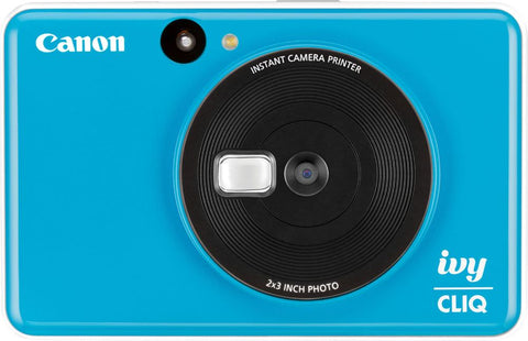 Canon - IVY Cliq Instant Film Camera - Seaside Blue