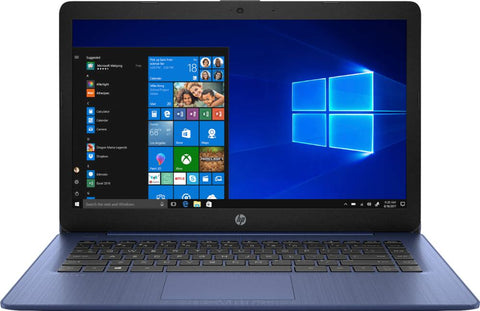 "HP - Stream 14"" Laptop - AMD A4-Series - 4GB Memory - AMD Radeon R3 - 64GB eMMC Flash Memory - Royal Blue Frosted Blue"