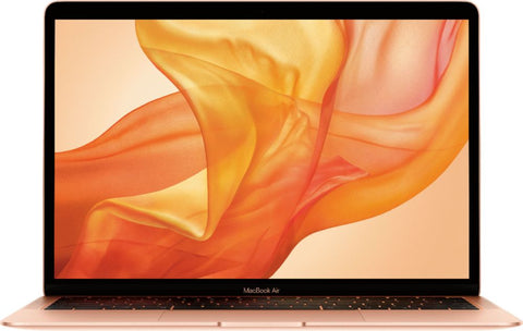 "Apple - MacBook Air 13.3"" Laptop with Touch ID - Intel Core i5 - 8GB Memory - 128GB Solid State Drive (2019) - Gold"