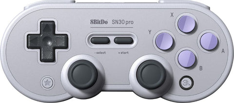 8BitDo - SN30 Pro Wireless Controller for PC  Mac  Android  and Nintendo Switch - Gray
