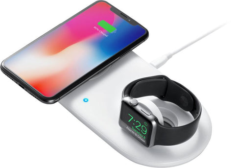 Anker - PowerWave+ Qi Certified Wireless Charging Pad - White