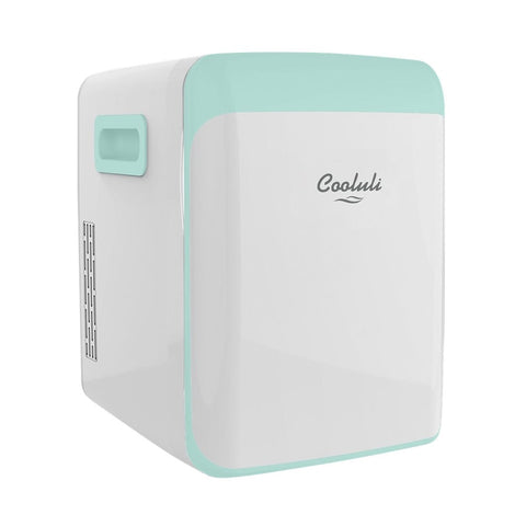 Cooluli - Classic 0.5 Cu. Ft. Mini Fridge - Teal