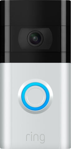 Ring - Video Doorbell 3 - Satin Nickel/Venetian Bronze