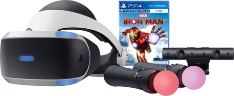 Sony Interactive Entertainment - PlayStation VR Marvel's Iron Man VR Bundle