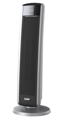 Lasko 1,500-Watt Digital Ceramic Tower Heater with Electronic Remote Control