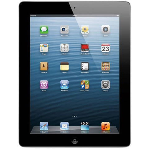 "Apple iPad with Retina Display 9.7"" MD510LL/A (16GB, Wi-Fi, Black) 4th Generation (Refurbished)"