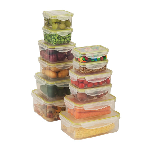 Honey Can Do 24pc Snap-lock food storage