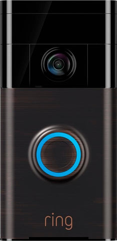 Ring WiFi Smart Video Doorbell Venetian Bronze