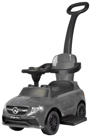 Mercedes 3 in 1 Push Car, Grey
