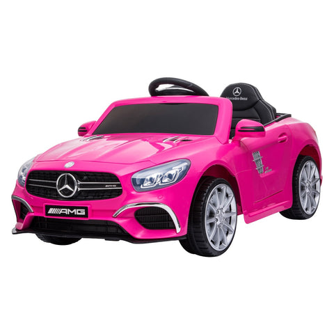 Best Ride On Car Mercedes SL63 12V Pink