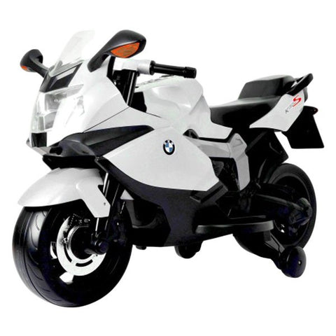 Best Ride On Car BMW Motorcycle 12V White