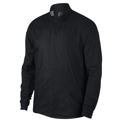 Nike Shield Full Zip Core Men's Wind Jacket - Black/XL