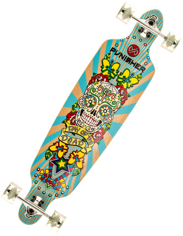 Punisher Day Of The Dead Longboard