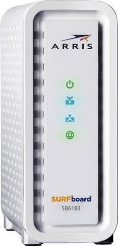 ARRIS - SURFboard 600 Series DOCSIS 3.0 Cable Modem - White