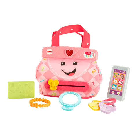 Fisher-Price Laugh and Learn My Smart Purse Toy Playset