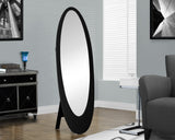 Monarch Oval Mirror - Black