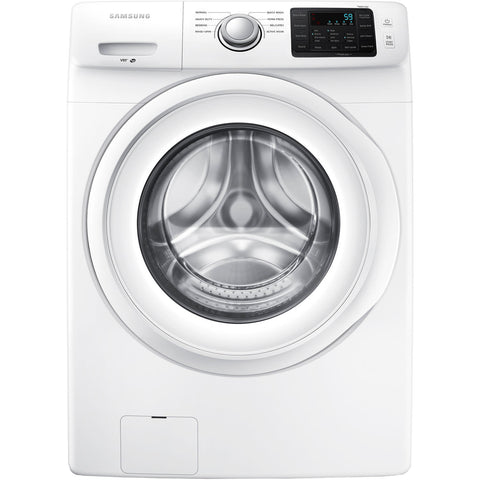 Samsung - 4.2 Cu. Ft. 8-Cycle High-Efficiency Washer - White