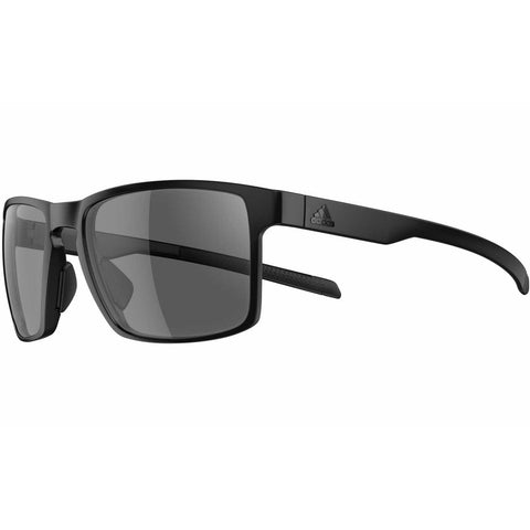 Adidas Wayfinder Sunglasses - Black Matte/Grey