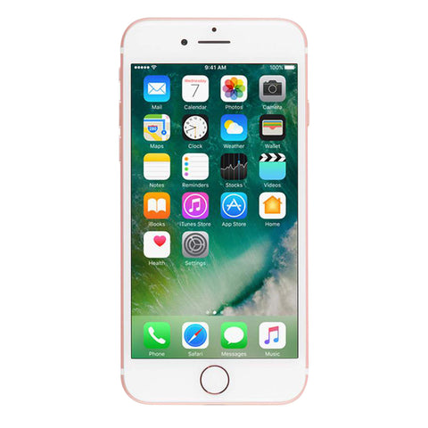 Apple iPhone 7 Unlocked 128GB - Rose Gold (Refurbished)