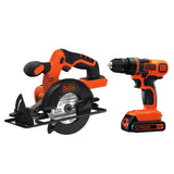 Black & Decker - 20V MAX Drill/Driver & Circular Saw Combo Kit