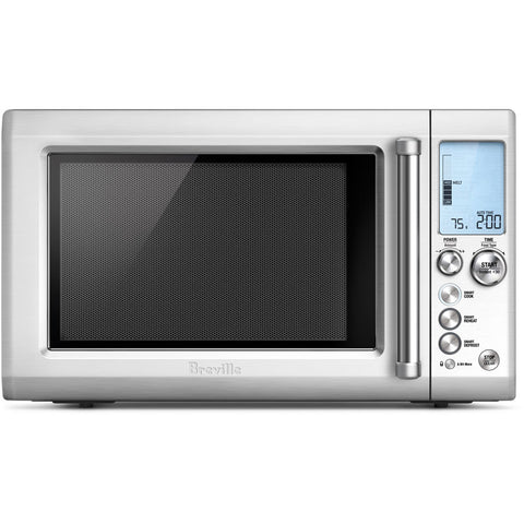 Breville The Quick Touch 1.2 Cu. Ft. 1100W Countertop Microwave Oven with Sensor IQ