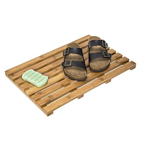Honey Can Do Bamboo Bath Mat