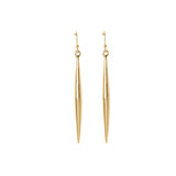 Vince Camuto Spear Drop Earrings Gold-Tone