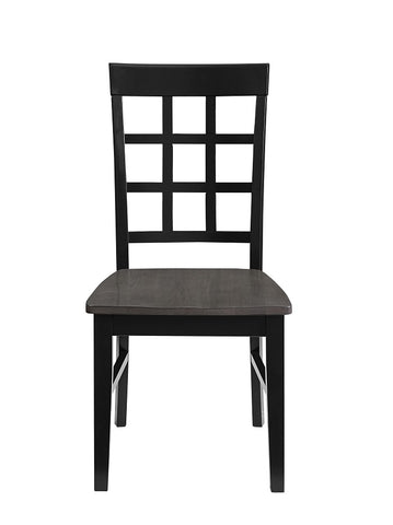 Salem Window Pane Dining Chair - Set of Two