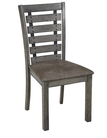 Fiji Dining Chairs, Set of 2 Harbor Gray