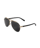 Dolce and Gabbana DG2189 01/87 61 Aviator Sunglasses