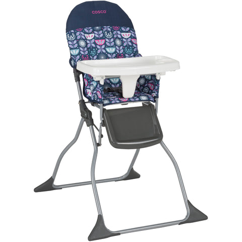 Cosco - Simple Fold High Chair Poppy Field