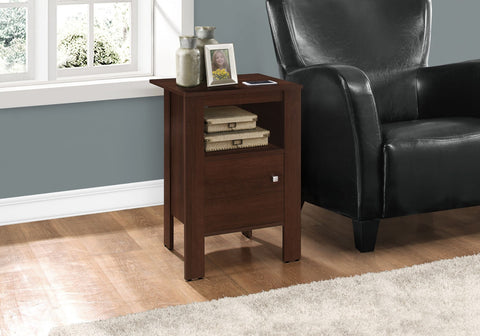 Monarch Accent Table Cherry Night Stand With Storage