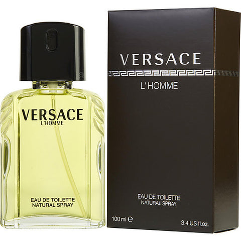Versace L'Homme By Gianni Versace EDT Spray 3.4 Oz
