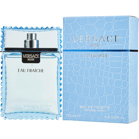 Versace Man Eau Fraiche By Gianni Versace EDT Spray 3.4 Oz