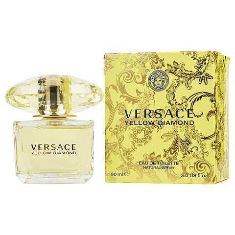 Yellow Diamond By Gianni Versace EDT Spray 3 Oz
