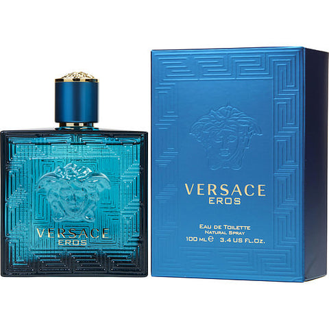 Versace Eros By Gianni Versace EDT Spray 3.4 Oz