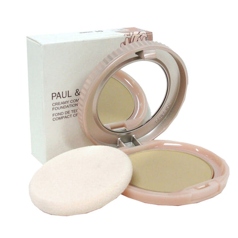 Paul & Joe Creamy Compact Foundation 01 Ivoire .29 Oz