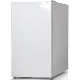 Keystone Energy Star 4.4 Cu. Ft. Compact Single-Door Refrigerator with Freezer Compartment - White