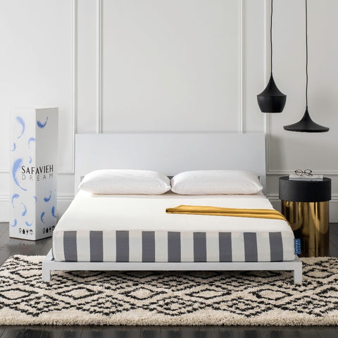 "Embrace 8"" Luxury Foam Safavieh Dream Mattress - Twin by Safavieh"