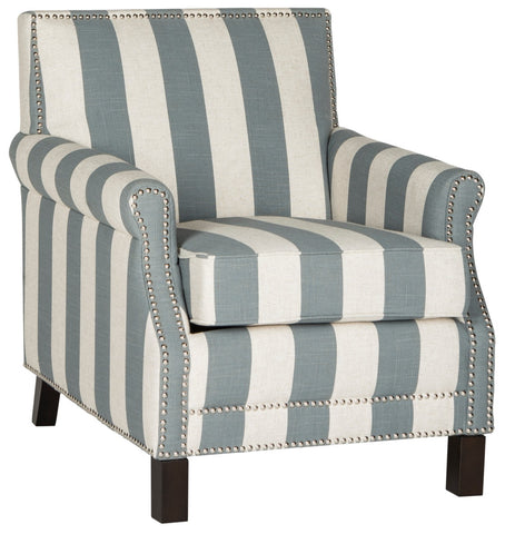 Safavieh Easton Club Chair - Grey  /  White