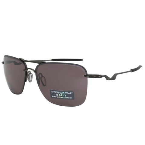 Oakley Tailhook Square Sunglasses 0OO4087 408705 60 POL - Carbon Frames - Polarized Prizm Daily Lenses