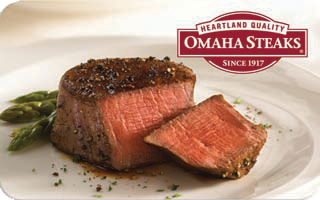 Omaha Steaks Gift Card - $50