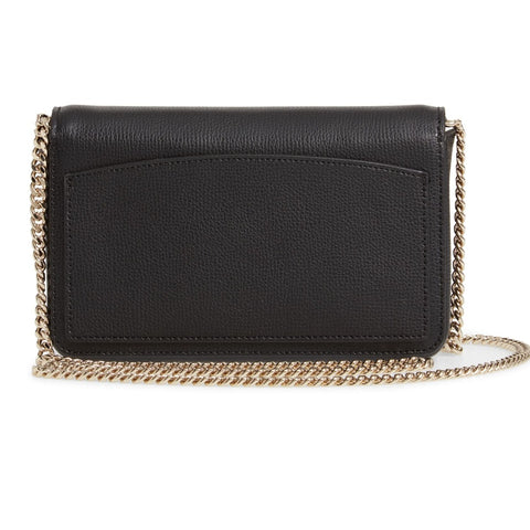 Kate Spade Sylvia Chain Wallet Crossbody - Black
